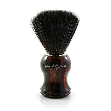 Edwin Jagger black synthetic fibre brush, Tortoise shell handle