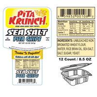 Pita Krunch Inc Pita Krunch /Pita Chips - Sea Salt