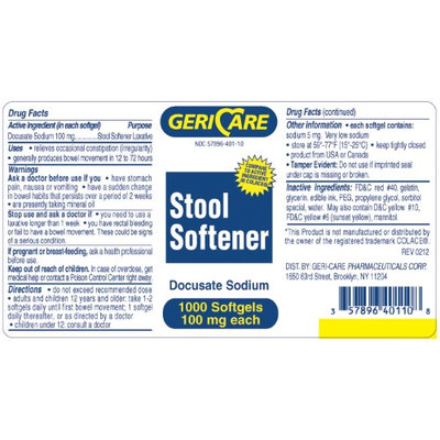 McKesson Brand Stool Softener