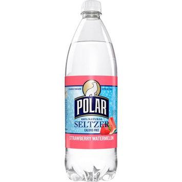 Polar Seltzer Water, Strawberry Watermelon, 33.8 Fl Oz (Pack of 12)