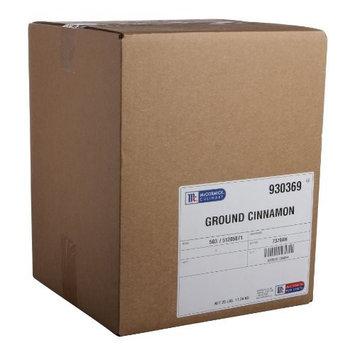 McCormick Culinary Ground Cinnamon, 25 lbs [Ground]
