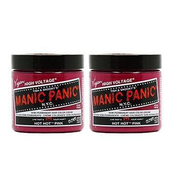 Manic Panic Semi-Permanent Hair Color Cream - Hot Hot Pink 4oz