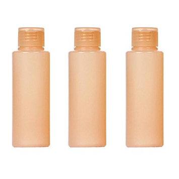 3PCS Plastic Empty Flip Cap Soft Squeeze Tubes Bottles Container Vial For Makeup Cleanser Cream Shampoo Shower Gel Essential Oil Lotion Sample Travel Toner