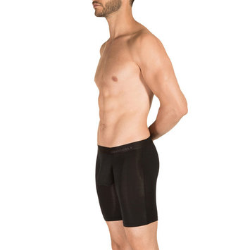 Obviously PrimeMan Boxer Brief 9 inch Leg Black