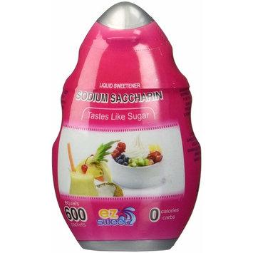 EZ-Sweetz Sodium Saccharin (Single Pack 1.42oz - Liquid Sweetener 600 Servings/Bottle)
