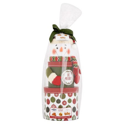 Designpac Gifts Llc Design Pac Santa/Snowman Tower Gift Set, 3 pack