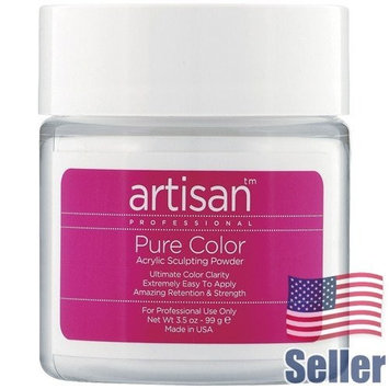 Artisan Acrylic Nail Powder | Premium White Color - Self Leveling - 3.5 oz