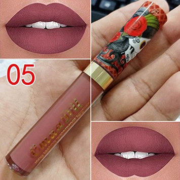 Pagacat Women Cosmetic Matte Long Lasting Lip Liquid Vintage Style Soft Makeup Beauty Liquid Lipstick Lip Gloss