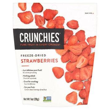 Crunchies Freeze Dried Fruit Freeze Dried Strawberries-1 oz Bag