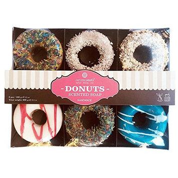 Half Dozen Scented Donut Themed Soap Gift Set