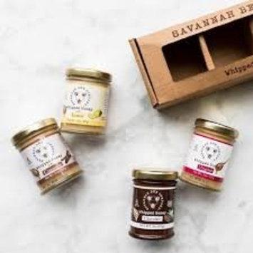 Savannah Bee (4 Jars) Whipped Honey Gift Set - Original, Lemon, Cinnamon, Chocolate, 3oz each