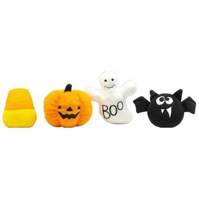 Mirage Pet Products 4001 SMCCR Halloween Plush Toys Candy Corn Small