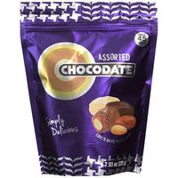 Ziyad Chocodates Chocolate Dates, Assorted, 225 Gram