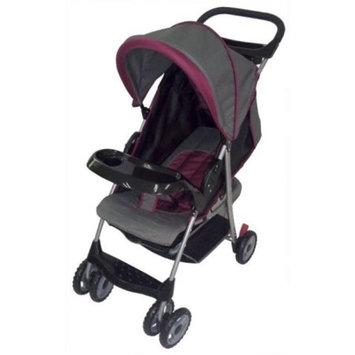 AmorosO Convenient Baby Stroller, Burgundy