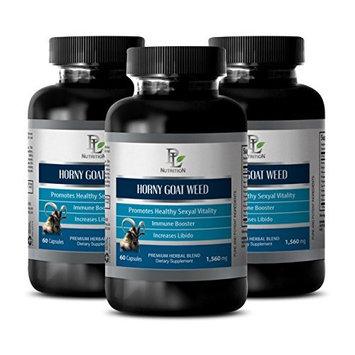 Sex boost pills - HORNY GOAT WEED EXTRACT - Epimedium extract - 3 Bottle 180 Capsules