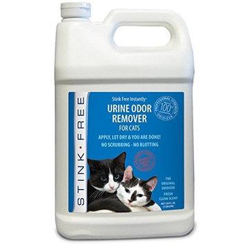 Stink Free Instantly Urine Odor Remover for Cat Urine, 128 Oz (1 Gallon)