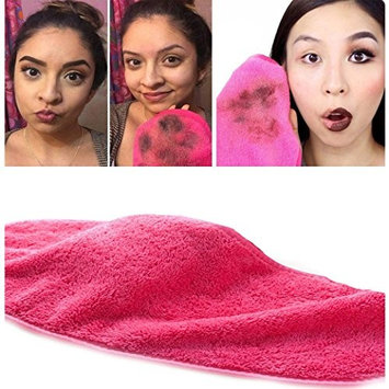 Honhui Microfiber Makeup Remover Cloth Facial Cleaning Towels Fast Drying Washcloth Makeup