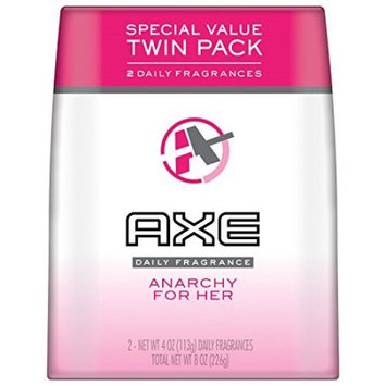 Axe Daily Fragrance Body Spray for Her, Anarchy, 4 Oz, 2 Ct