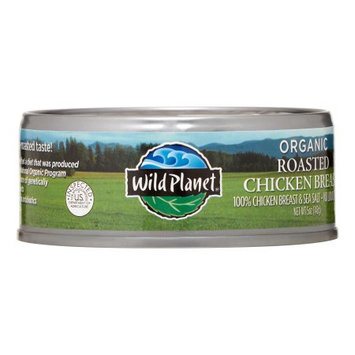Wild Planet 269742 5 oz. Chicken Breast Roasted Organic
