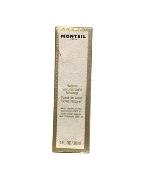 Monteil Habitat 1.0 oz Natural-Light Makeup with chemical-free sunscreen 30 ml NIB