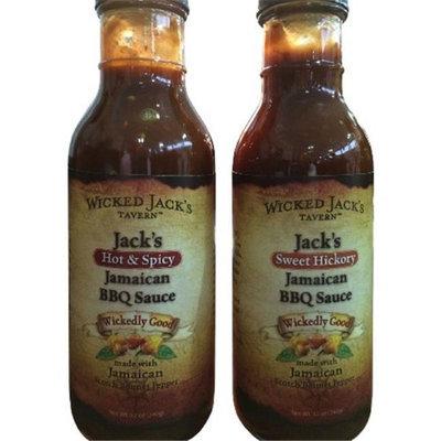 Wicked Jack Tavern Sweet Hickory BBQ Sauce 15 oz