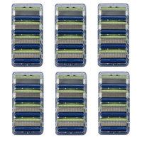 Schick Hydro 5 Sensitive Refill Blade Cartridges, 4 Count (Bulk Packaging) Pack of 6