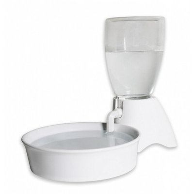 Pioneer Pet Pioneer Universal Reservoir Drinking Fountain - White 70 Ounce