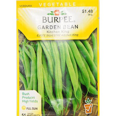 Burpee-Bean, Kitchen King Seed Packet