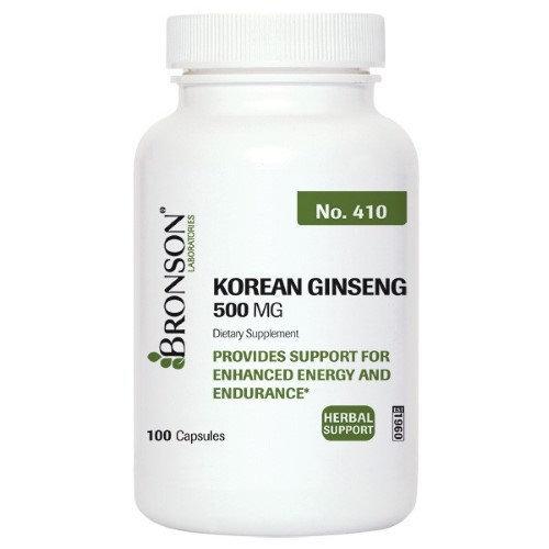 Bronson Vitamins Korean Ginseng 500 mg