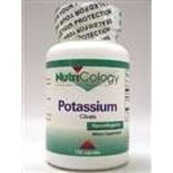 Nutricology Potassium Citrate, Vegicaps, 120-Count