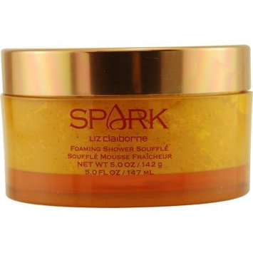 Liz Claiborne Spark Foaming Shower Souffle, 5.0 Ounce