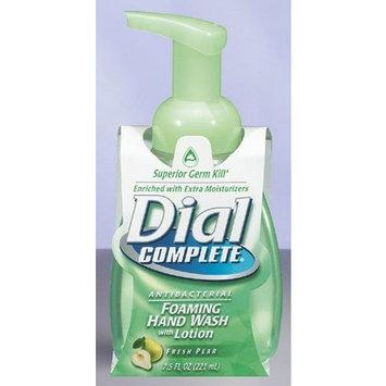 Dial Complete Antibacterial Foaming Hand Soap, Fresh Pear, 7.5 Fluid Ounces [Fresh Pear]