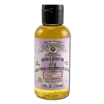 J.R. Watkins Lavender Body Oil 4 oz
