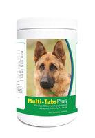 Healthy Breeds 840235123415 German Shepherd Multi-Tabs Plus Chewable Tablets - 365 Count