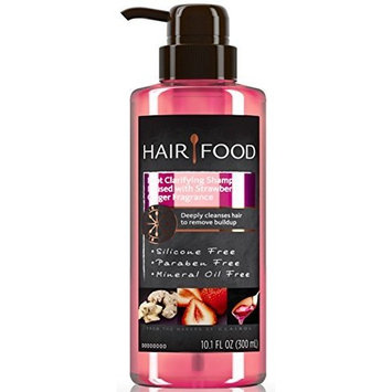 2 Pk. Clairol Hair Food Strawberry Ginger Root Cleansing Shampoo - 10.1 Oz