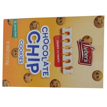 Lieber's Mini Chocolate Chip Cookies Kosher For Passover 10 Oz. Pack Of 3