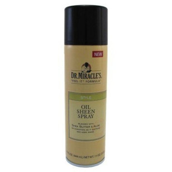 Dr. Miracle's Oil Sheen Spray, 15 Ounce