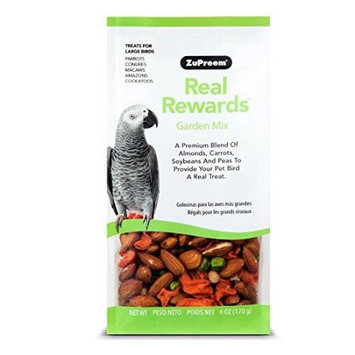 ZuPreem Real Rewards Garden Mix Treats for Large Birds