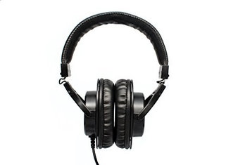 CAD Audio MH210 Closed-Back Studio Headphones, 15Hz-22kHz Frequency Response, Black