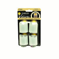 Gerson Company Gerson Set of Four LED Flicker Votives