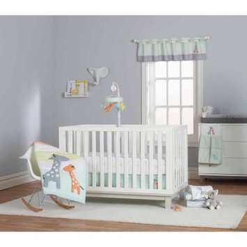 Child of Mine by Carter's Giraffe Family 3-Piece Crib Bedding Set
