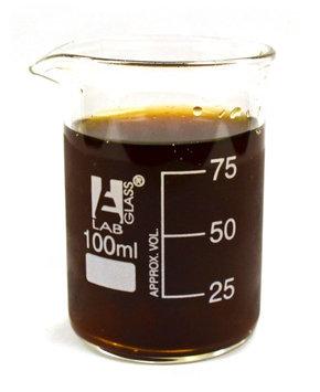 Eisco Beaker Double Shot Glasses - 3.3oz/100mL - Lab Quality Borosilicate Glass - Set of 2