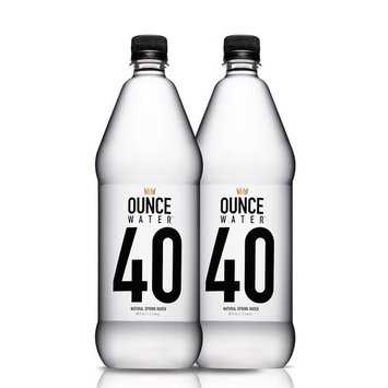 Ounce Water Natural Spring Water Bottle 2 Piece Day Pack, 40 Ounce