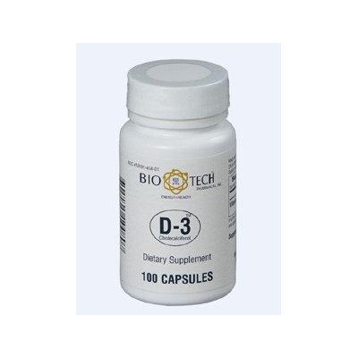 D3 (Cholecalciferol) 1000 IU 100 caps by Bio-Tech
