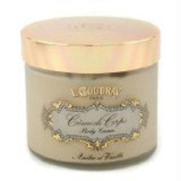 E Coudray Ambre & Vanille Bath and Shower Foaming Cream - 250ml/8.4oz