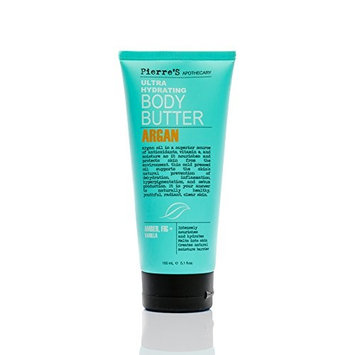 Pierre's Apothecary ARGAN Ultra Hydrating Body Butter 6.7 Oz