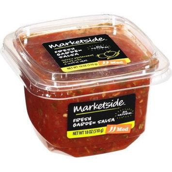 Manufactured For Marketside, A Division Of Walmart Stores, Inc. Marketside Fresh Garden Medium Salsa, 18 oz
