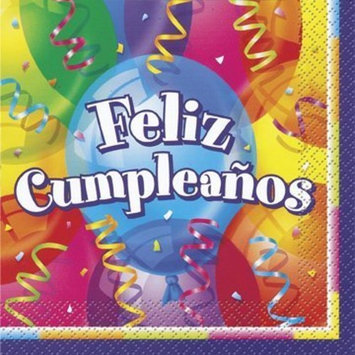 Feliz Cumpleanos Lunch Napkins