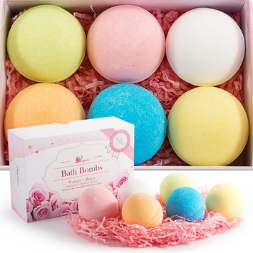 Bath Bombs kit made by VENERE, New gift set ideas for women, men, mom, girls, teens, birthday, easter, kids, valentines - Ultra Lush Spa Fizzies - Relaxing...