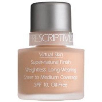 Prescriptives Virtual Skin Super Natural Finish Makeup Foundation 1oz/30ml - Real Gold (Warm) 07 by Prescriptives